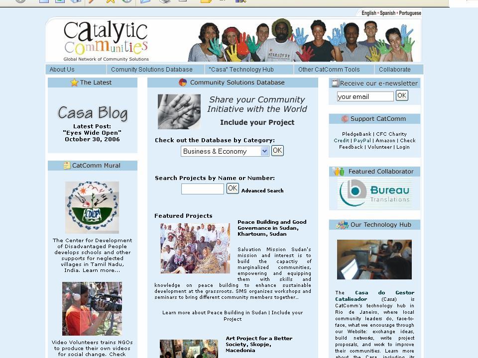 2006 Community Solutions Database