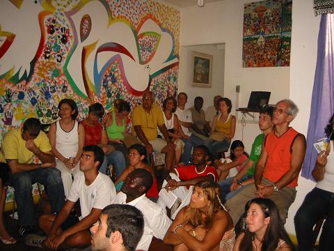 Workshop in Casa workshop room